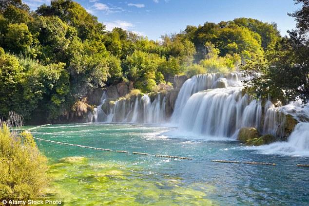 Just as good, even if you don't jump in: Krka National Park is a splash-filled wonder