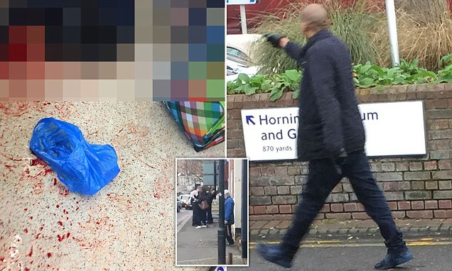 Forest Hill Station knifeman shouting 'kill all Muslims' stabs a man
