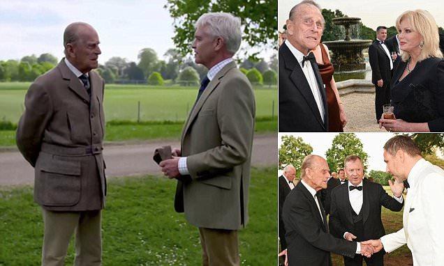 Phillip Scholfield met his match when he interviewed Prince Philip