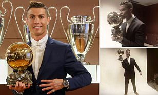 Cristiano Ronaldo wins Ballon d'Or 2016 as Real Madrid star scoops fourth award