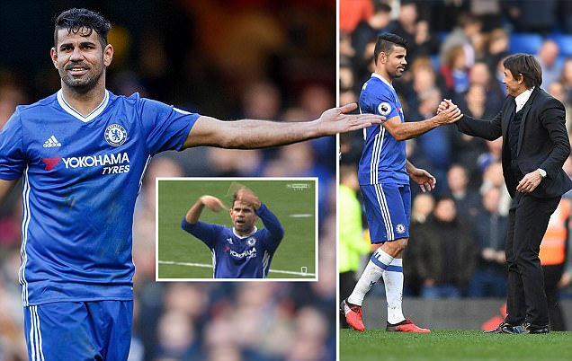 Diego Costa has gone from the striker Antonio Conte didn't rate to Chelsea's most