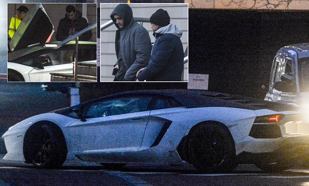 Man United news: Henrikh Mkhitaryan leaves Lowry in flash Lamborghini Aventador