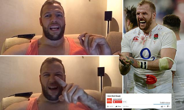 I'm not dead and for those of you who wish I was, better luck next time! James Haskell