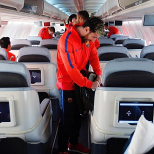 Barcelona fly out to Doha for glamour friendly just days before derby against Espanyol