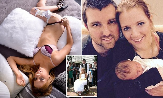 Bride paralyzed at her bachelorette party opens up about sex after her accident