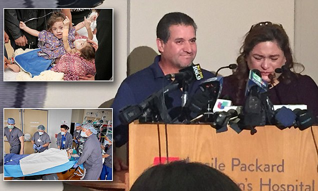California mother of conjoined twins says 'it's a dream come true'
