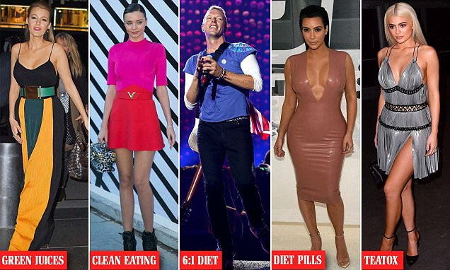 Top 5 WORST celebrity diet trends to avoid in 2017 as advised by BDA