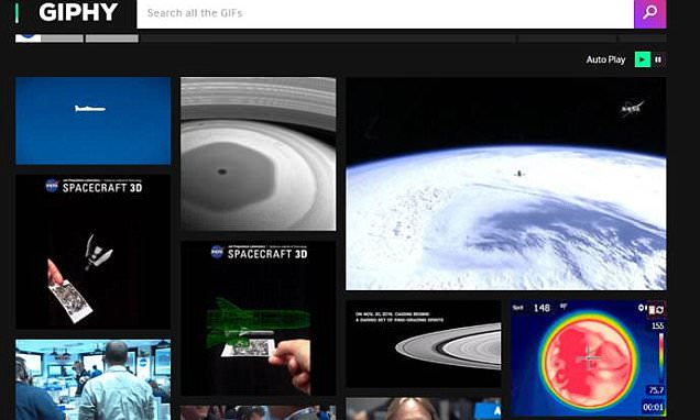 NASA unveils its first GIF gallery with 450 animated images