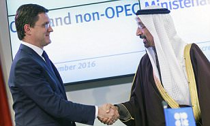 MARKET REPORT: Commodities soar as first global oil pact in 15 years sends price of crude