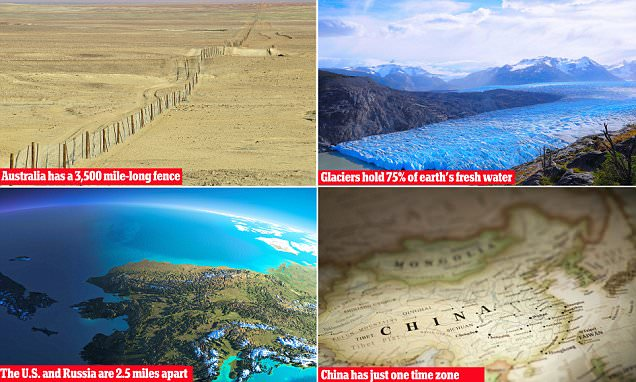 Most amazing geography facts EVER