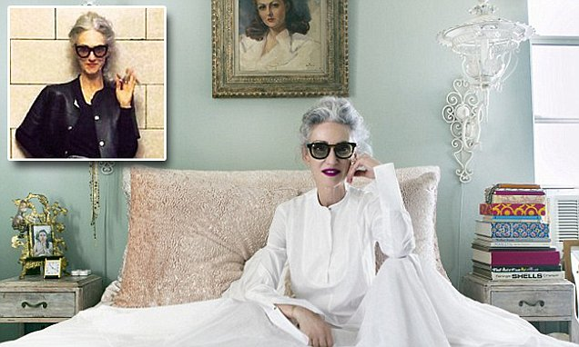 Meet the perfectly polished silver stylista, aka Instagram sensation Linda Rodin