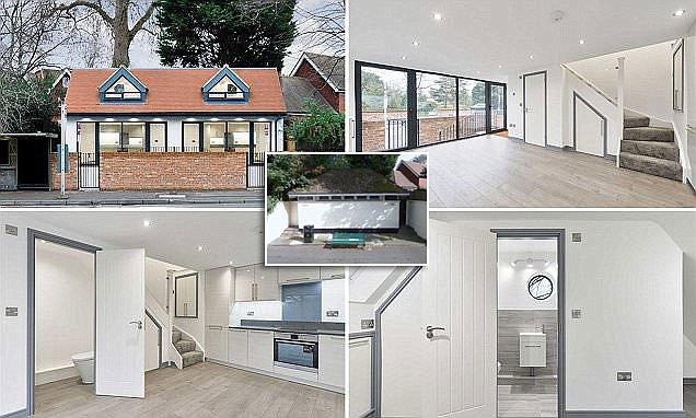 Homebuyer converts public toilet that's now a one bed semi-detached house