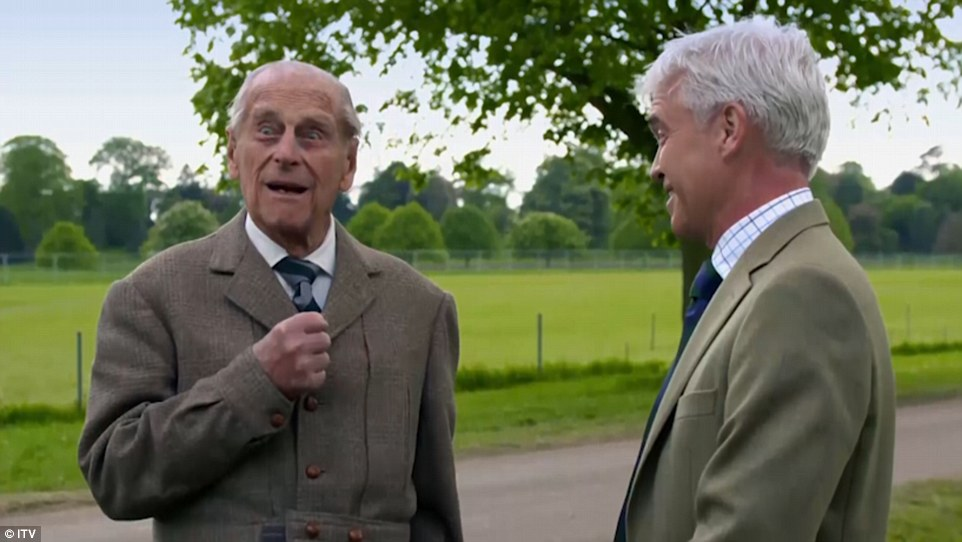 In a one-hour special to be shown tonight to mark the Diamond Jubilee of the Duke of Edinburgh's Award (DofE), the notoriously dour – and sometime cantankerous – prince made clear he had little time for Schofield's apparent sycophancy