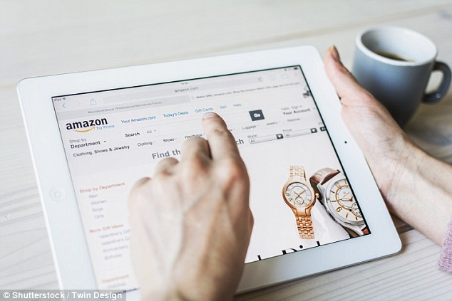 Customers are invited to click on a link that appears to take them to the company's website. But the link actually takes users to a fake, authentic-looking phishing site designed to look like an Amazon page. (Stock image)