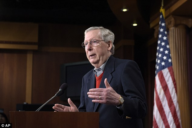 Senate Majority Leader Mitch McConnell gave his blessing today to a Senate probe into Russian hacking
