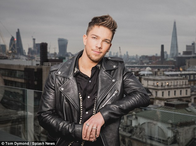 No romance: X Factor winner Matt Terry has insisted Freddy Parker is 'like a little brother' to him in the wake of fans' claims the pair shared a kiss on Sunday night's final of the ITV1 show