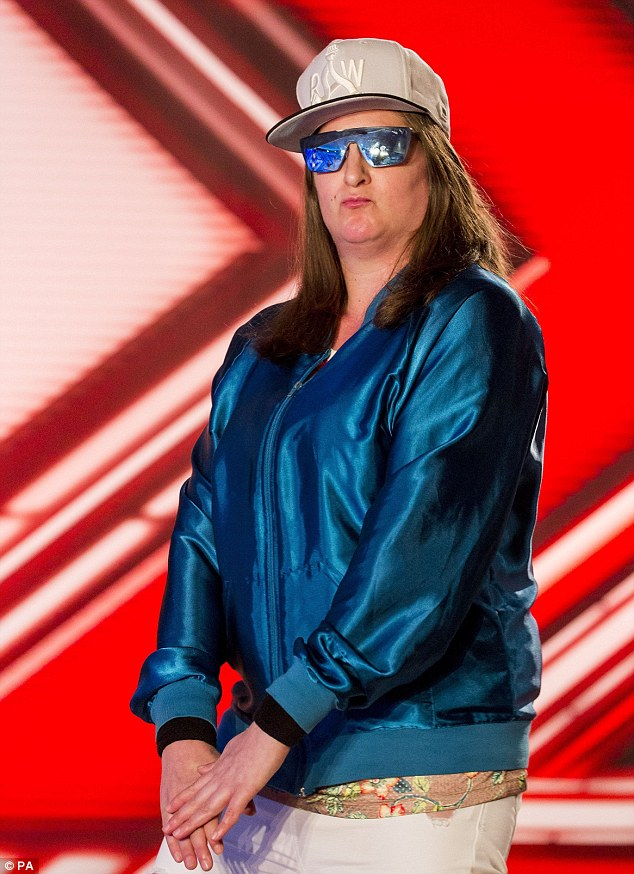 Why not? Matt told MailOnline divisive X Factor rapper Honey G has every right to pursue a recording career after her stint on the show
