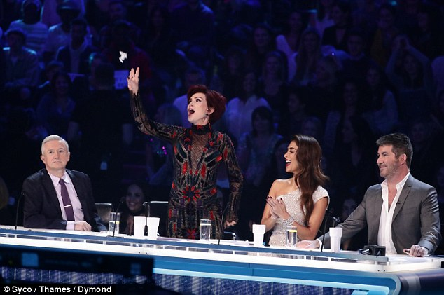Secret romance: A love affair has been blossoming behind the scenes of The X Factor between two contestants that even the judges don't know about, a report claimed last month