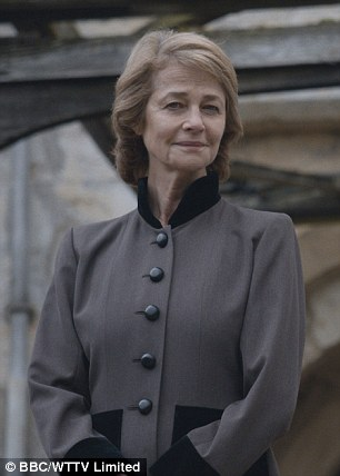Veteran actress: Charlotte Rampling has earned a nod for her lauded turn in London Spy