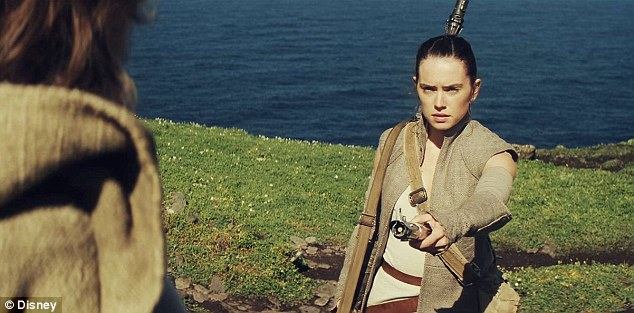 'It's very, very exciting!' Fans will finally discover if Rey is Luke Skywalker's daughter in Star Wars: Episode VIII, which doesn't hit US/UK theaters until December 2017