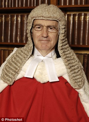 Sir William Blair, 66, has been appointed a Senior Circuit Judge, based at Bristol Crown Court