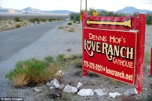 Near death: In October last year, the ex-Laker was found unconscious in Nevada brothel the Love Ranch after a drug overdoes