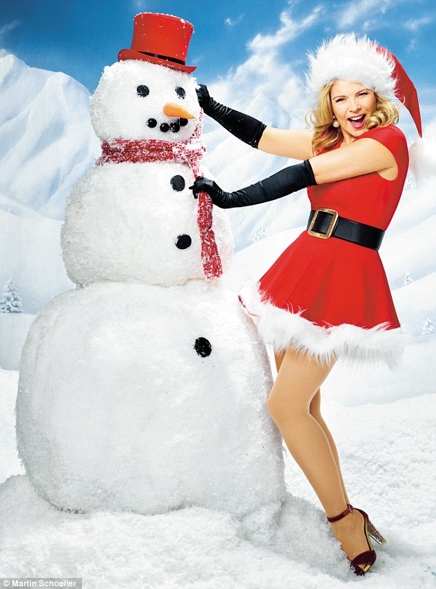 Build a snowman or go ice-skating? 'Building a snowman. Let it snow.' Favourite Christmas TV show? 'None. My favourite thing to do is cook. Every day.'