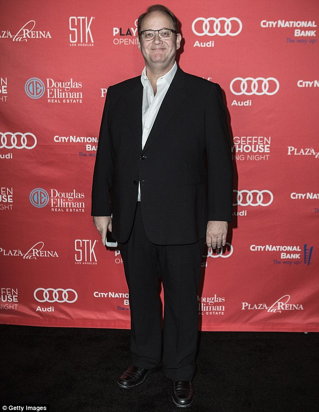 Force behind the project: The show, created by Marc Cherry, 54, will mark both Reba's and the Desperate Housewives creator's return to the prime time network. He is pictured in Los Angeles in September
