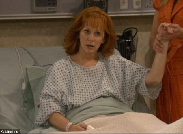 True talent: Country singer Reba was already a household name before she landed her own  show, Reba