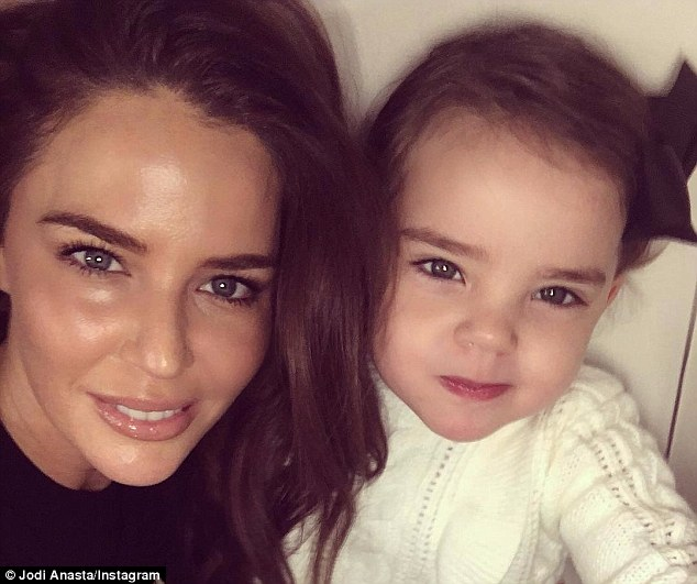 Co-parent: It's been reported that she has been adjusting to life as a co-parent to daughter Aleeia, two, following her split from Braith Anasta last year