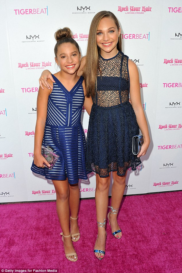 Teen stars:The Ziegler Girls [Mackenzie pictured left, with Maddie on the right] tour of Australia in January features performances in addition to workshops and a meet and greet