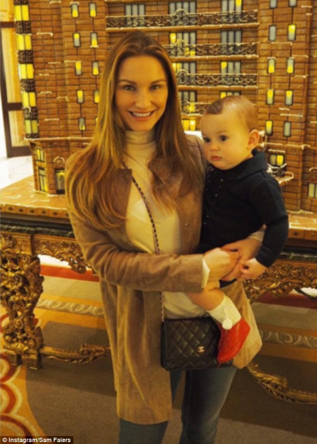 Doting mum Sam Faiers, 25, has come under fire from commenters over a video posted to Instagram showing baby Paul facing sideways in his car seat