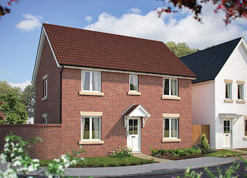 "Thumbnail 4 bed detached house for sale in ""The Baron"" at Poethlyn Drive, Costessey, Norwich"