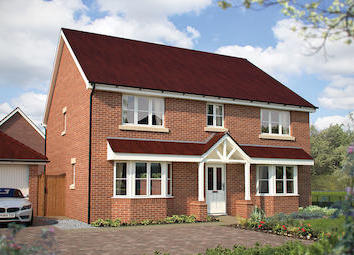 "Thumbnail 5 bed property for sale in ""The Winchester"" at Dragonfly Lane, Cringleford, Norwich"