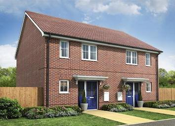 "Thumbnail 2 bed semi-detached house for sale in ""Plot 119 The Belford"" at Wroxham Road, Sprowston, Norwich"