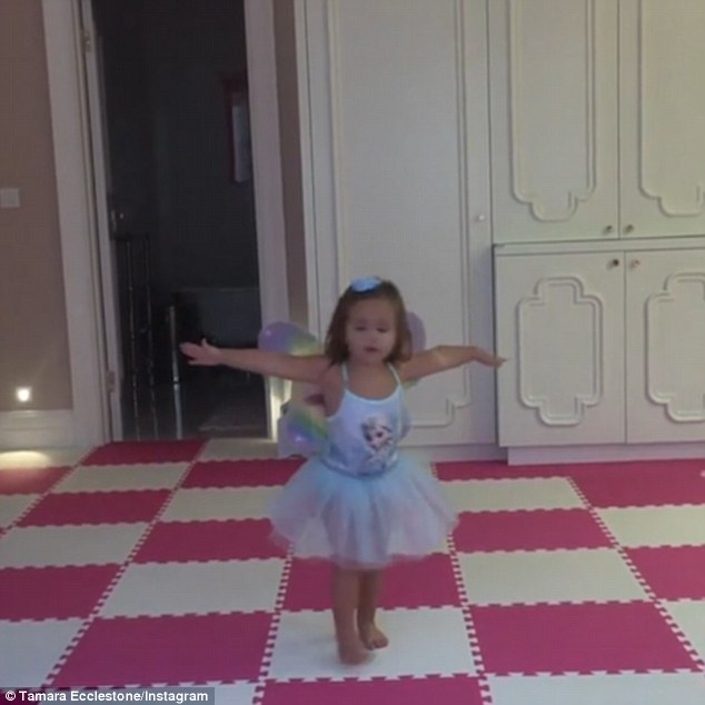 'My tiny dancer': Sophia showcased her dance moves in a sweet Instagram video