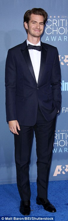 Suits you! Ryan Reynolds, Kevin Hart, Andrew Garfield and Tom Ford looked very smart in their fitted tuxedos