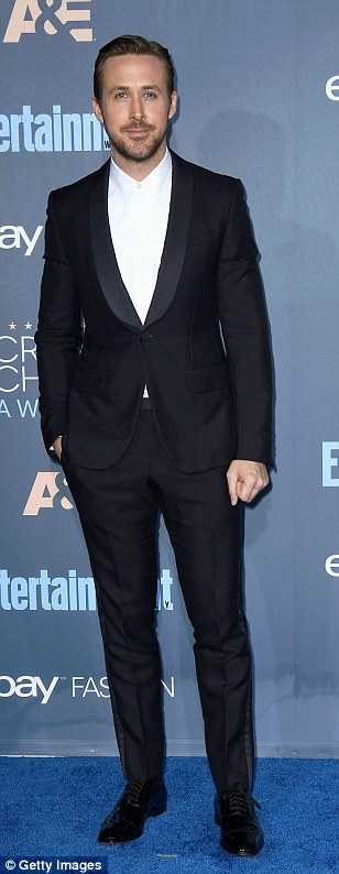 Hollywood heartthrobs:Norman Reedus,John Travolta and Ryan Gosling looked great all tux'd up