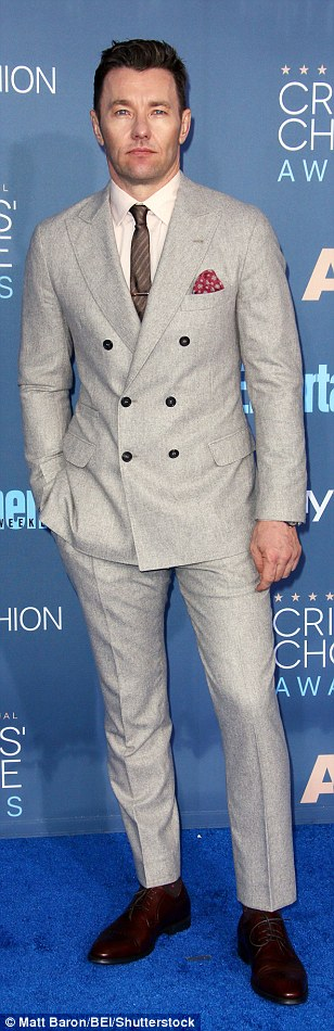 Straight out of GQ: Joel Edgerton, Donald Glover and Christian Slater all rocked suits with an edge