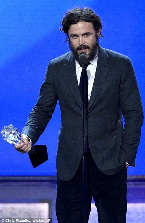 Big night: Natalie Portman won Best Actress as Casey Affleck took home Best Actor at the 22nd Annual Critics' Choice Awards