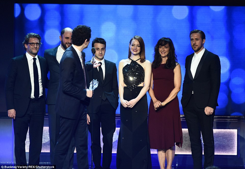 Squad: Damian thanked the cast and crew for their work which included Emma Stone and Ryan Gosling