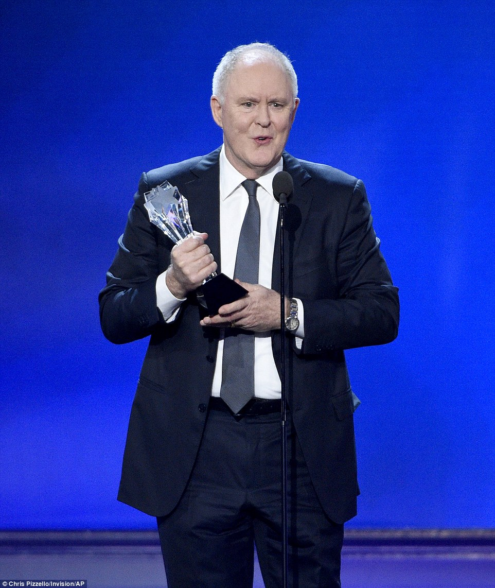 Legend: John Lithgo won the Best Supporting Actor in a Drama Series gong for his work on Netflix series The Crown