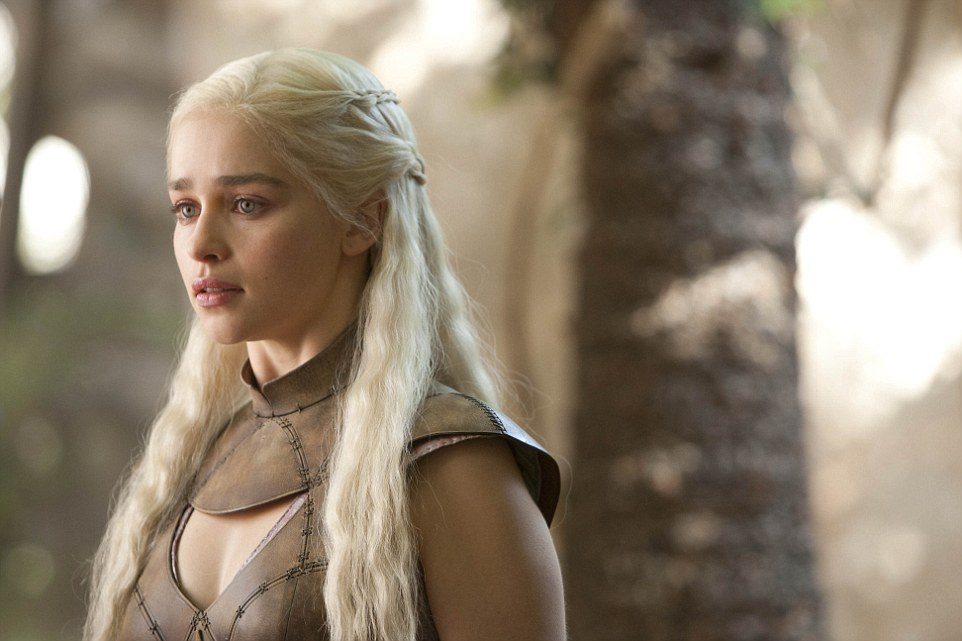 Still on top: Game Of Thrones earned one of the highest honors of the night with a win in the Best Drama Series category