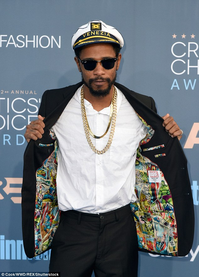 Ahoy there captain: Rapper and actorLakeith Stanfield chose the wrong moment to embrace a maritime theme, he also decided to storm the stage and accept and award for Silicon Valley despite not being in the show