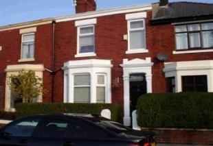 Thumbnail 3 bed terraced house to rent in Burrow Road, Preston