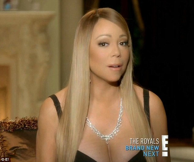 Locked away: Mariah told how early in her career she lived 'like Rapunzel'