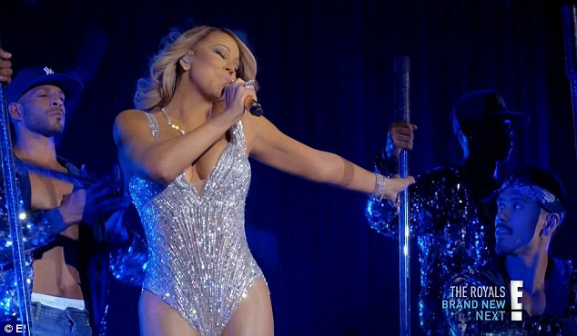 European tour: Mariah earned rave reviews from fans at the Glasgow concert