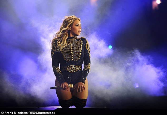 Fan favourite: From April 27 to October 7, the chart-topper was on the road for her Formation World Tour (pictured June in New York)