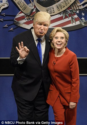 Kate McKinnon and Alec Baldwin were both winners at the Critics Choice Awards for their spot-on impersonations of the presidential candidates on Saturday Night Live