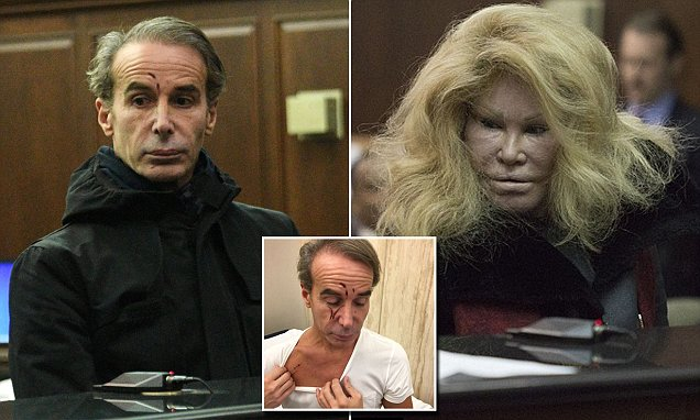 Jocelyn Wildenstein's ex claims she 'lied' about assault and theft as 'revenge' for